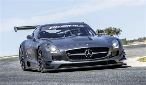 mercedes sls amg gt3 45th anniversary edition race