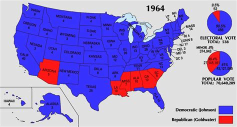 map of the united states electoral votes file 1964 electoral map png wikimedia commons