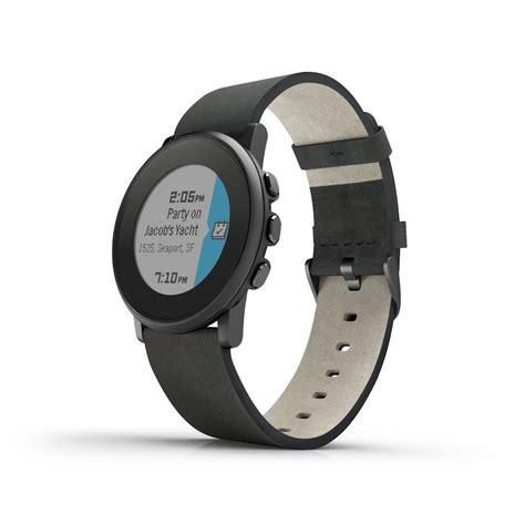 Pebble Time Round Smartwatch für iOS und Android