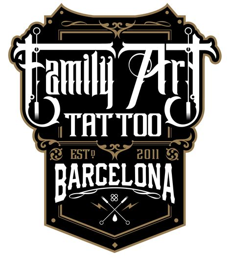 logo tattoo estudio family art tattoo estudio de tatuajes en barcelona