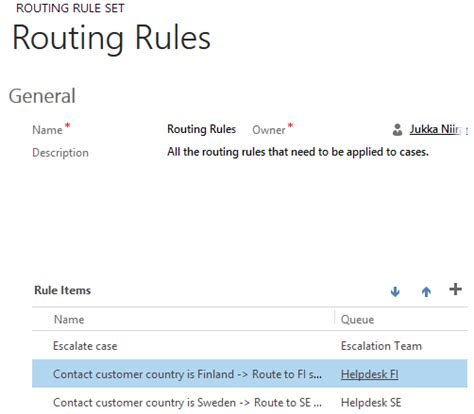 routing rules crm 2013 sp1 case creation and routing the details