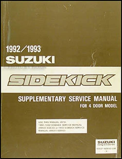 automotive repair manual 1992 suzuki samurai user handbook 1992 suzuki sidekick owners repair manual blog archives madeloadfre