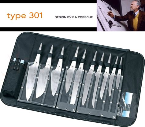 Kitchen Knive Set chroma cutlery f a porsche type 301 chef s knife bag
