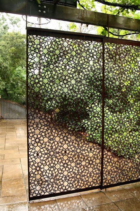 moroccan inspired garden screen garden dividers garden