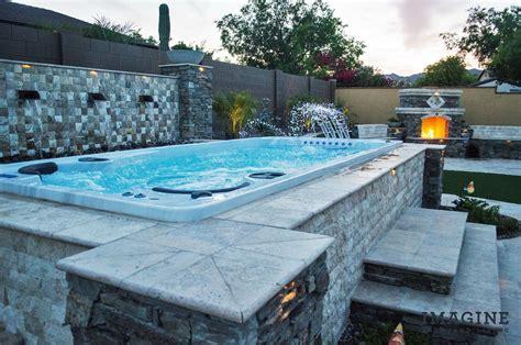 www backyard imagine backyard living hot tub spa jacuzzi sundance 6