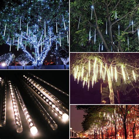 snowfall led lights australia 30cm 144 led lights 8 meteor shower snowfall