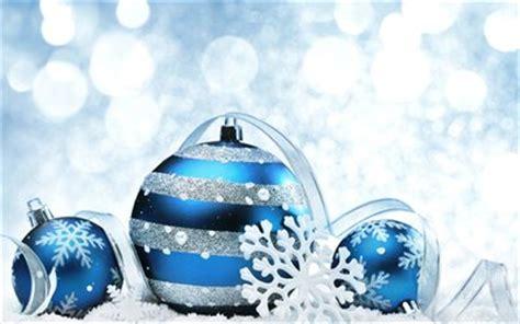 blaue krabben dekorationen herunterladen hintergrundbild weihnachten blaue kugeln