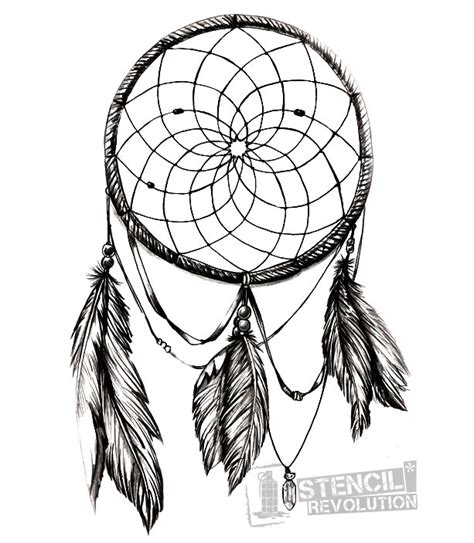 dreamcatcher tattoo stencil dream catcher stencil stencils pinterest dream