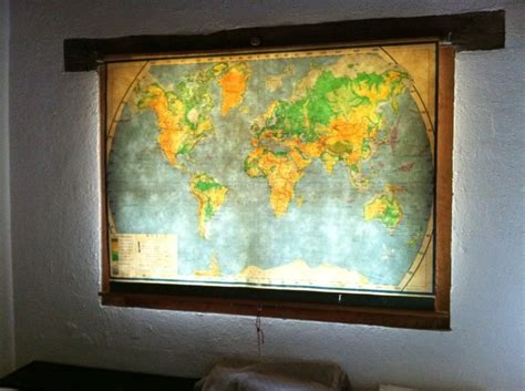 pull down curtains fabulous window covering an old school pull down map