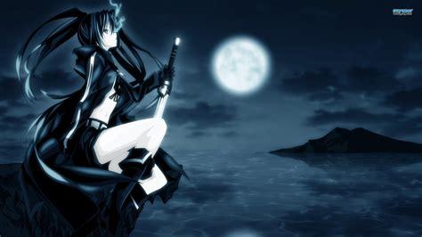 wallpaper hd anime black rock shooter black rock shooter star light wallpaper 24518359 fanpop