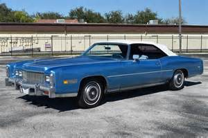 Used Cars Ni Classic Used 1976 Cadillac Eldorado Convertible Venice Fl For