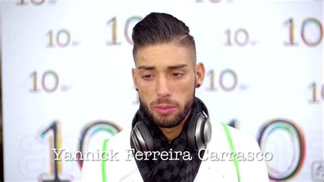 ferreira carrasco hairstyle be tv 10 ans les voeux de yannick ferreira carrasco