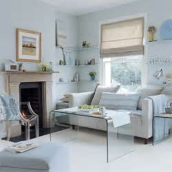 Blue Grey Living Room Living Room Pale Blue And Grey Scheme Housetohome Co Uk
