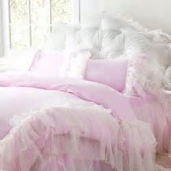 Hello Kitty Bedroom Set Queen shabby chic ruffled bedding