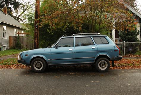 old subaru wagon old parked cars 1978 subaru leone wagon