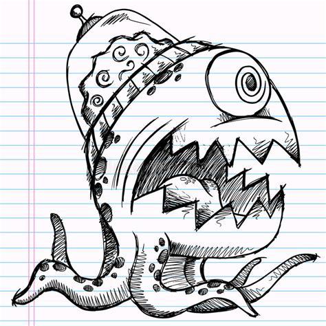 doodle sketch vector free notebook doodle sketch stock vector