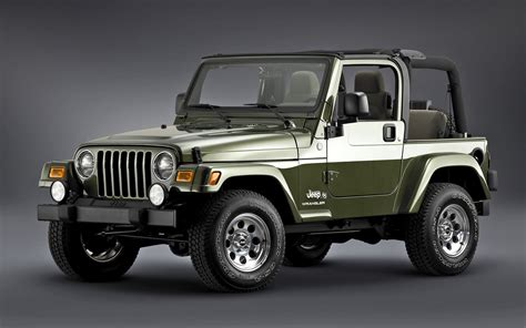 What Is A Tj Jeep 2002 Jeep Wrangler Ii Tj Pictures Information And