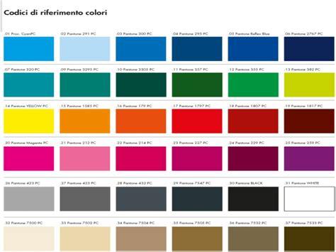 tavole dei colori cartella colori