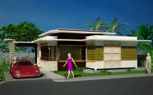 House Design Modern Bungalow by Exterior Home Design Modern Bungalow Exterior Design