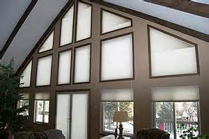 How To Hang Curtains On High Window specialty shaped windows the blind spot