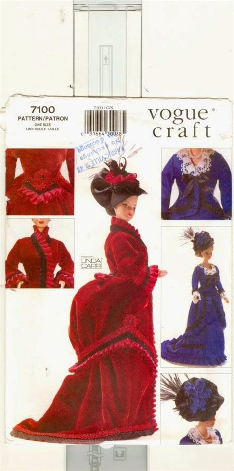 vogue pattern numbers vogue craft sewing pattern number 7100 edwardian bustle