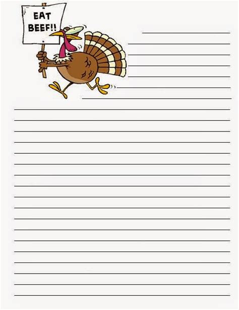 turkey writing paper who s who and who s new gobbling up a freebie