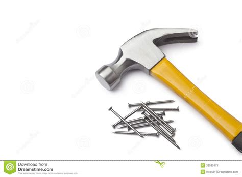 Nagel Und Hammer by Hammer And Nails Stock Photos Image 32595573
