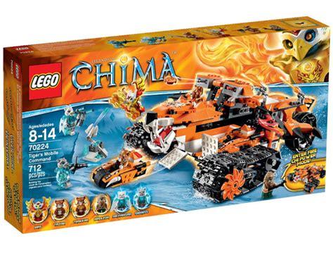 Lego Chima Storage Box lego chima 2015 sets tiger s mobile command 70224 revealed bricks and bloks