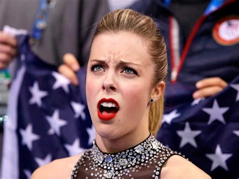 Ashley Wagner Memes - ashley wagner angry face business insider