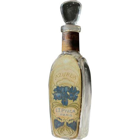 Bottle L by Perfume Bottle L T Piver Commercial Bottle Great Label Azurea From Timeinabottle On Ruby