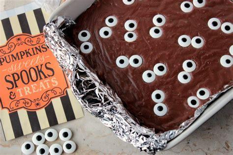 spooky eyeball fudge brownies big s
