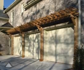 Pergola Doors by Pergola As An Accent Over Garage Doors Garage Door