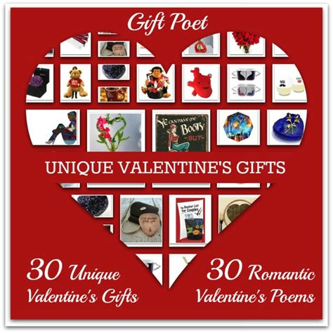 unique valentines gift 30 unique s gifts paired with poems