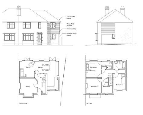 kitchen extension floor plans semi detached extension layout ideas google search