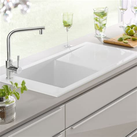 timeline 60 ceramic butler kitchen sink just bathroomware