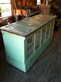 kitchen island used kitchen island made from doors and windows we could