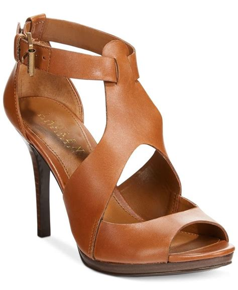 ralph sandal these strappy open toe heels especially