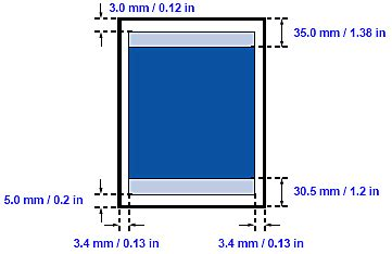 printable area a3 paper printing area