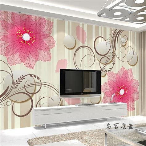 free shipping modern wall 3d murals wallpaper 3d rose free shipping large wall painting background wallpaper