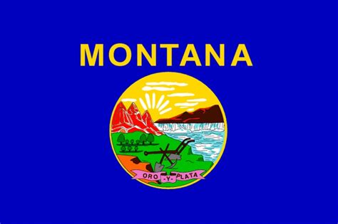 montana state flagworld of flags world of flags