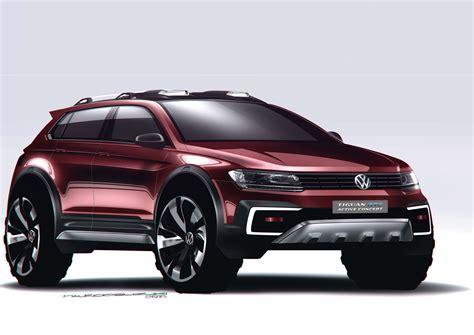 volkswagen concept 2017 volkswagen introduces tiguan gte active concept