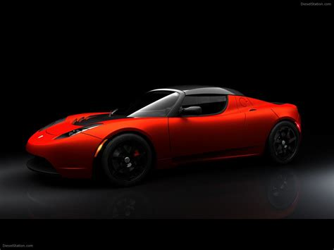 Tesla Roadster Sport 2010 Tesla Roadster Sport Car Wallpaper 03 Of 10