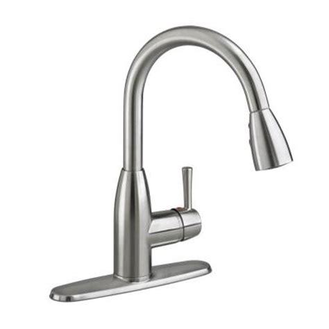 American Standard Fairbury Kitchen Faucet with American Standard Fairbury Single Handle Pull Sprayer Kitchen Faucet In Stainless Steel
