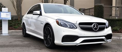 mercedes white white dynamite 2014 mercedes benz e63 amg 4matic s model