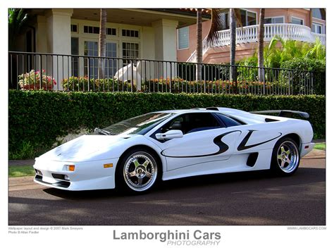 Lamborghini Diablo White by Lamborghini Diablo White Car Preview