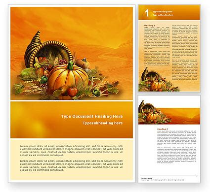 templates for thanksgiving thanksgiving day word template 02819 poweredtemplate com