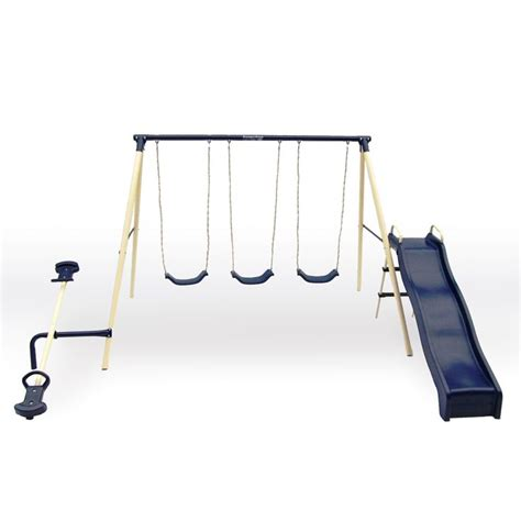 flexible flyer triple fun swing set flexible flyer triple 5 station fun metal swing set www