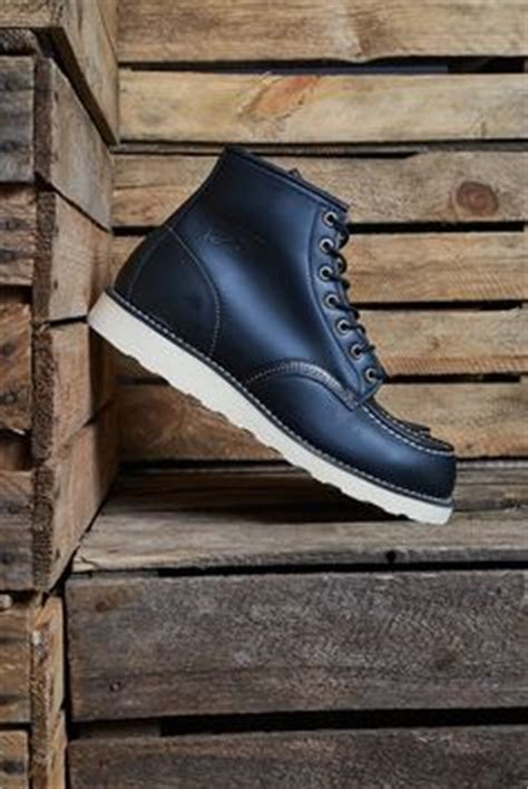 Kulit Original Handmade Leather Manner Brown Black Sole Berkualitas wing 6 quot leather moc toe boot shoes shoes and more shoes wing