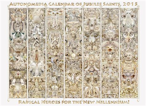 autonomedia calendar of jubilee saints 2018 books autonomedia zen cart the of e commerce