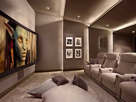 desain home theater minimalis miliki bioskop pribadi  rumah
